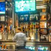 The new NBC Sports Grill & Brew has more than 100 varieties of beers from around the world on tap and by the bottle