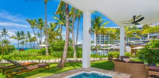 The new SeaGlass Villa 810 at the Andaz Residences Maui at Wailea recently joined Tropical Villa Vacations' collection of upscale homes, estates and villa vacation rentals in Hawaii.