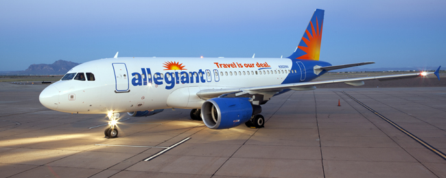 Allegiant's new nonstop service flies twice a week betweenFort Lauderdale and San Antonio.