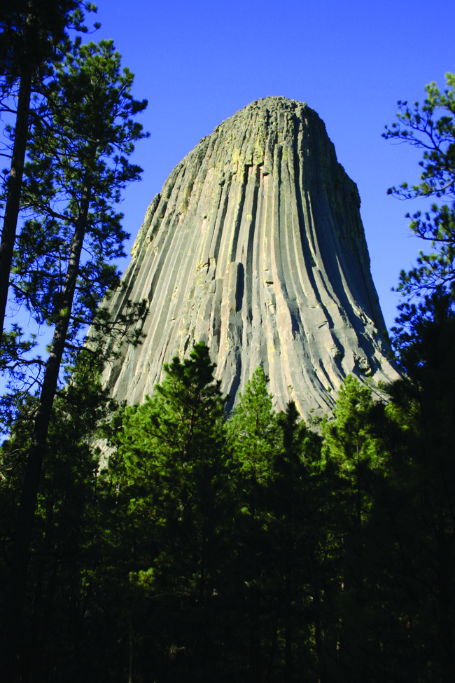 Devils Tower National Monument in Wyoming. (Globus Gamily of Brands)