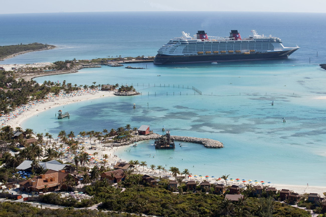 Disney Cruise Line is returning to the Caribbean and Bahamas for its early 2017 cruise season.