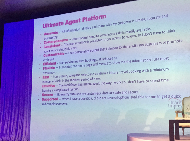 Features of Travel Impressions' new Ultimate Agent Platform, available across all of Apple Leisure Group.