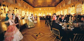 The highlight of MIR Corporation's new Russian Winter Wonderland tour is a lavish New Year's Eve Czar's Ball in Catherine's Palace.