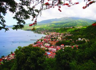 Sainte-Pierre in Martinique. (Steve Bennett, UncommonCaribbean.com)