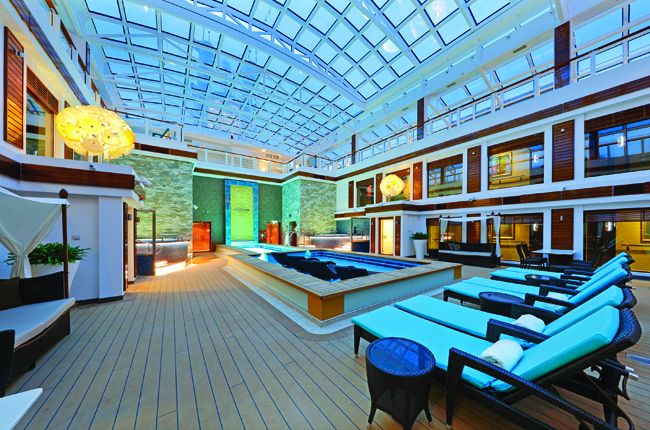 The Haven on board the new Norwegian Escape.