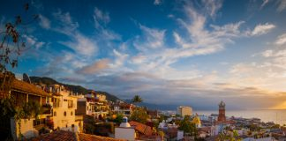 Alaskan Airlines' new nonstop service operates connects Orange County, California with Puerto Vallarta, Mexico (pictured).