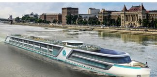 Crystal River Cruises artist rendering.