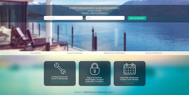 RentalsCombined.Net's homepage.