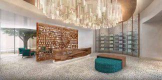 The spa at the newly opened Secrets Akumal Riviera Maya.