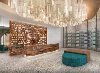 The spa at the newly opened Secrets Akumal Riviera Maya.