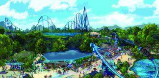 The Mako roller coaster will debut at SeaWorld Orlando in 2016. (SeaWorld Parks Entertainment, Inc.)