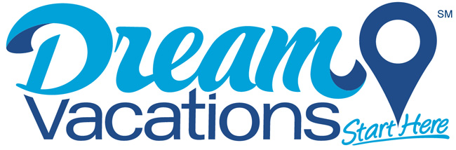 The logo for CruiseOne's new Dream Vacations brand.
