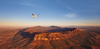 Bush Pilots Scenic Flight, Wilpena Pound. Credit: South Australian Tourism Commission