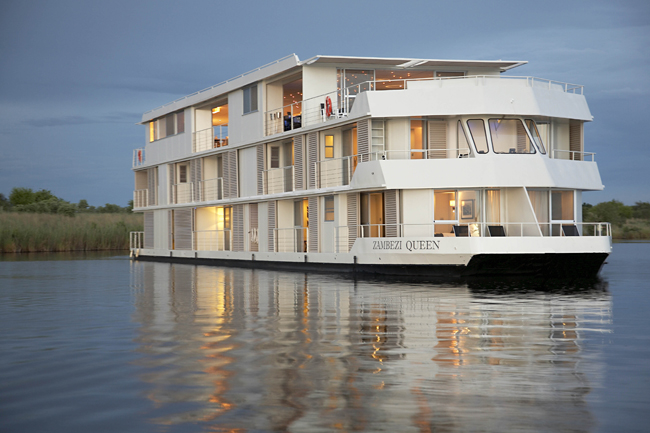 TheZambezi Queen's2016 and 2017 line-upincludes10- to 19-day itinerariessouth-central Africa.