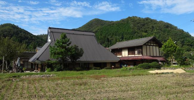Furumaya farm stay in Kyoto by the Sea.