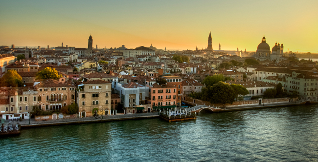 The Crystal Esprit's ports of call for next year's cruise season includesVenice, Italy.