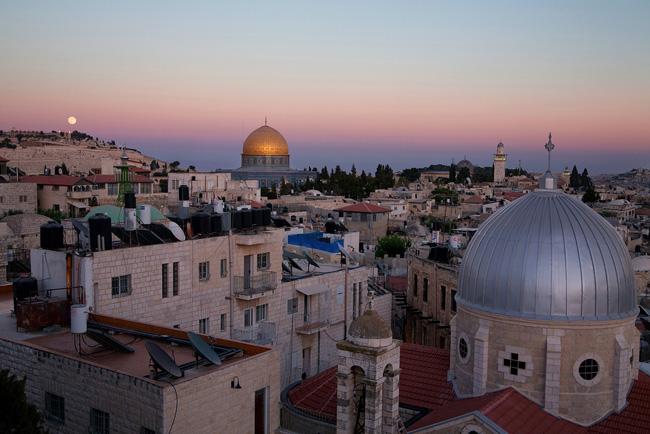 Jerusalem's skyline.