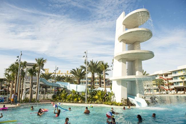 Cabana Bay Beach Resort Courtyard Pool.