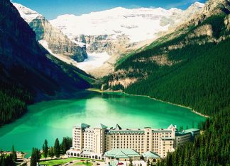 Chateau Lake Louise in Canada.