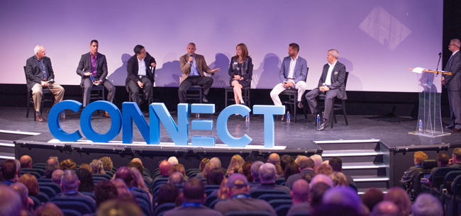 Cruise line execs discuss industry trends. (Photo Credit: Chris Racioppi.)