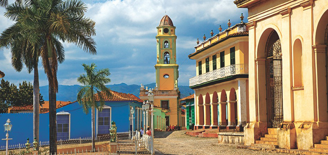 Sancti Spiritus in central Cuba.