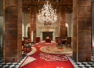 The Gramercy Park Hotel in New York City.