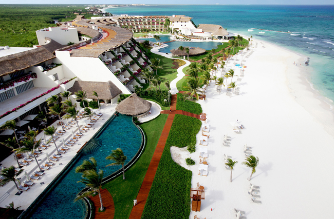 The Grand Velas Riviera Maya in Mexico.
