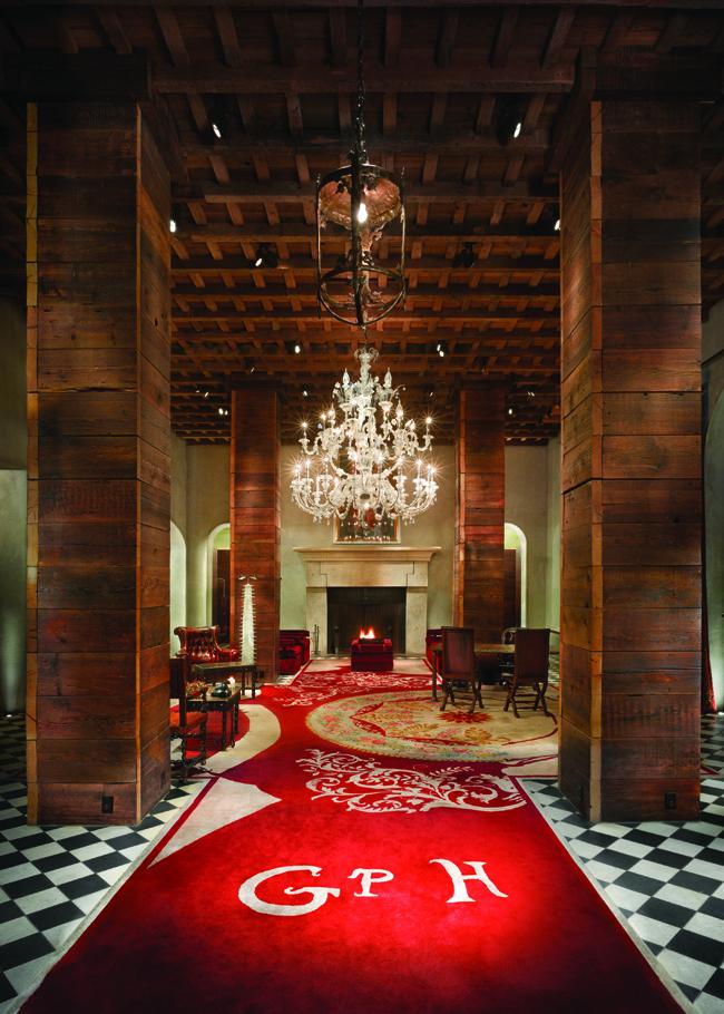 Gramercy Park Hotel in New York City.