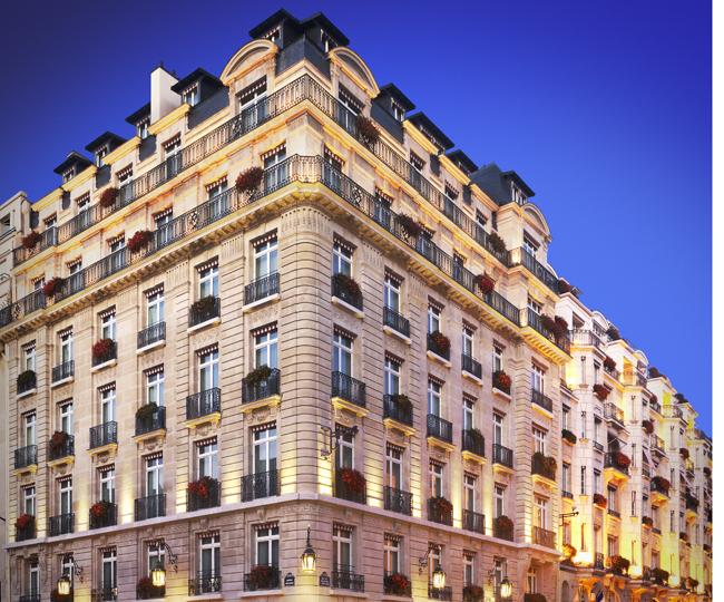 Le Bristol Paris hotel.
