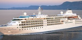 Silversea Cruises' Silver Cloud.