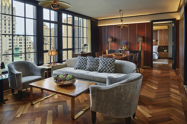 The Viceroy New York's Suite 57.