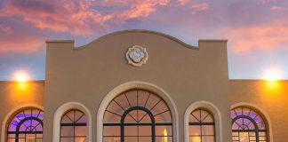 TheWestin La Paloma Resort & Spa's azul patio at sunset.