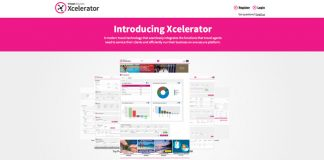 The Xcelerator booking platform.