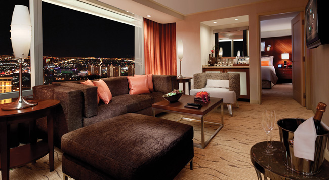 aria resort and casino rooms