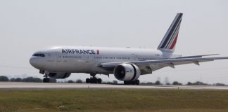 Air France's Boeing 777-200.