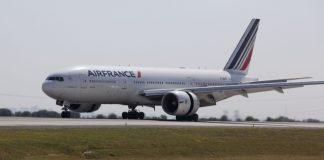 Air France'sBoeing 777-200.