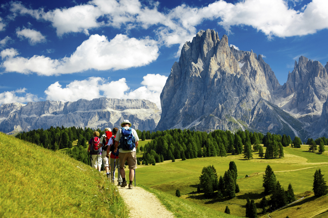 Outdoor Journeys' active tours includes a walking tour in Italy's Apuan Alps.
