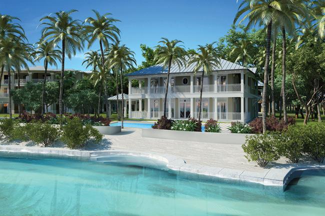 The 3-bedroom Beach House.
