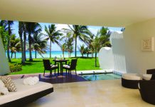 Grand Class Suite Terrace at Grand Velas Riviera Maya.