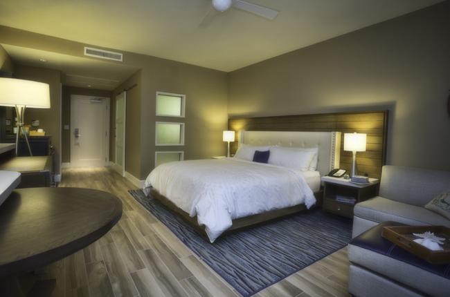 One of 166 luxury guestrooms.