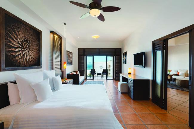 A premium oceanview guestroom.