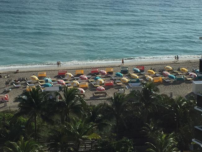Beachside at the Thompson Miami Beach.