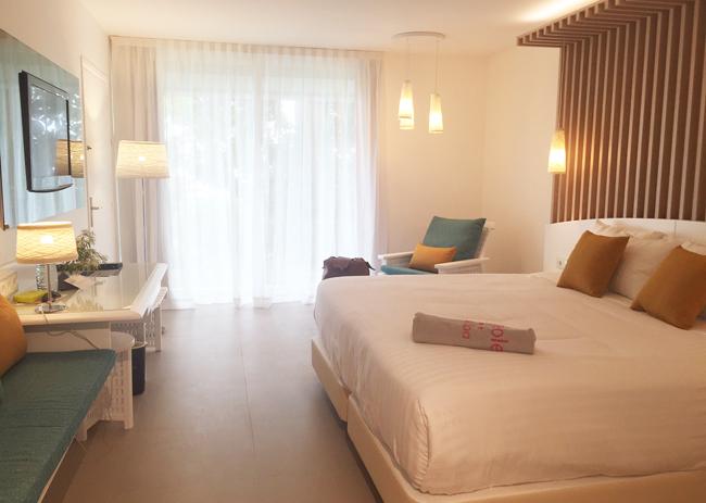 Guestroom at La Creole Beach Resort & Spa.