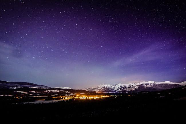Fairmont Jasper Park Lodge Dark Sky Preserve, Alberta