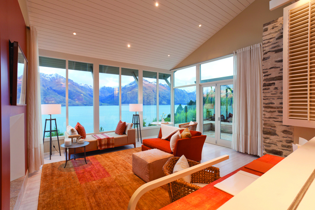 The Matakauri Lodge in New Zealand is included in Classic Vacations' packages.