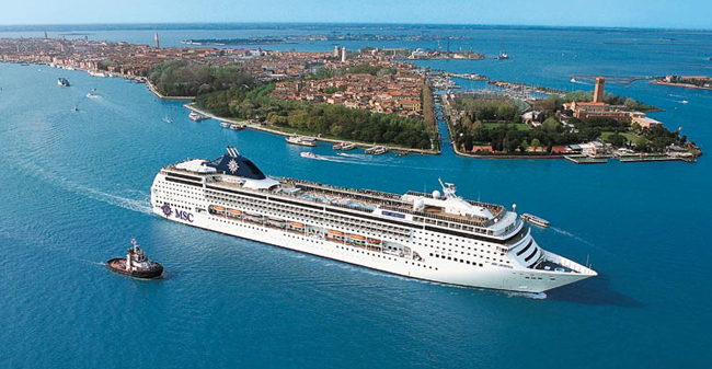 MSC Magnifica's new home port will be Venice, now that MSC Cruises has suspended its Turkish ports of call.