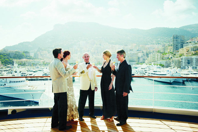 Silversea sails to elegant sought-after destinations, including Monte Carlo.