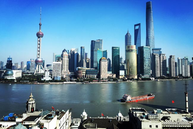 The Shanghai skyline in the Pudong District. (Photo credit: EXO Travel)