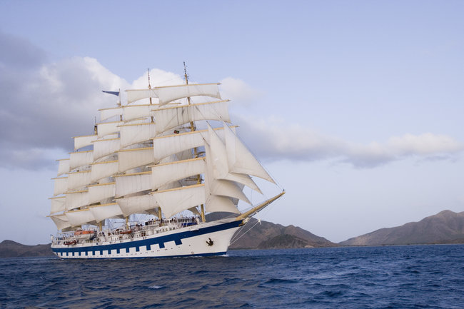 Star Clippers' Royal Clipper.