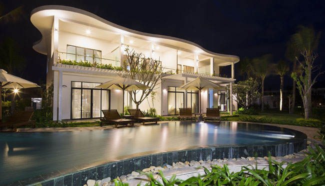 TheCam Ranh Riviera Beach Resort & Spa Nha Trang in Vietnam.